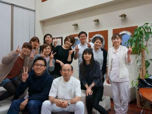 圖四,日本居波診所參訪合影