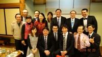 這次與會的台灣醫師與夫人們全員到齊大合照