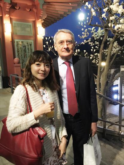 Met again with charming French super orthodontists - Didier Fillion 他就是治療英國凱特王妃的矯正醫師噢 (超帥氣又紳士!)